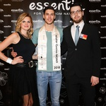 Mister Casino Mond je postal Matjaž Mavri Boncelj, na sliki skupaj z organizatorko projekta Nino Uršič in Juretom Hrastom, predstavnikom Casino&Hotel Mond. (foto: Luka Brataševec)