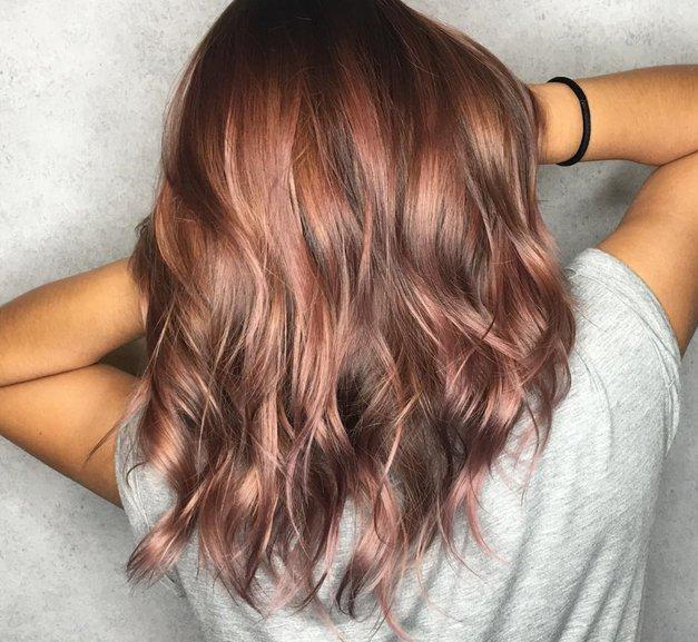 Rose brown: končno so tudi rjavolaske dobile svoj pastelni trend! (foto: Instagram/thomas.goh)