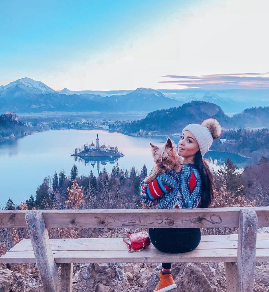 """Sanja Grohar Kovič: """"Imela sem vse znake, tudi izgubo okusa"""" (foto: Instagram.com / @TheyCallMeBamBam)"""