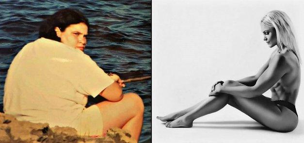 Navdihujoča zgodba Slovenke: od dekleta s prekomerno težo do fitnes tekmovalke (foto: Osebni arhiv)