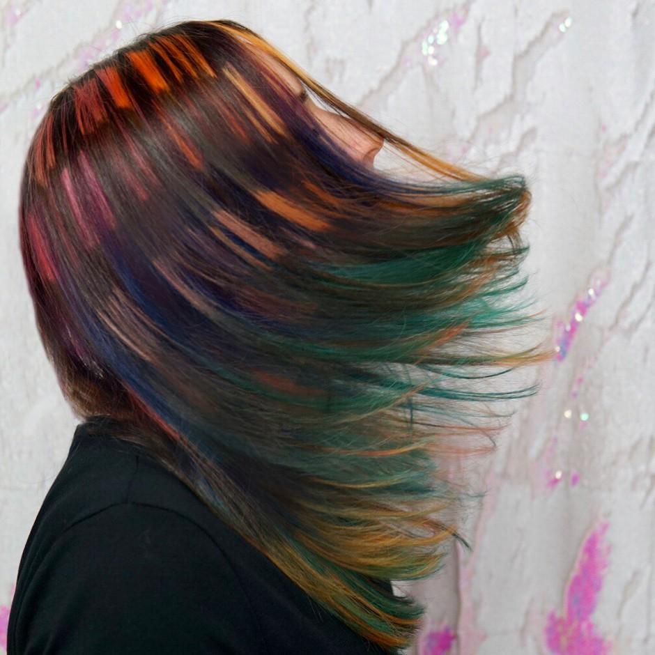 Si dovolj drzna, da preizkusiš tudi to frizuro? (Za vse oboževalke Harryja Potterja) (foto: Instagram/Cryistalchaos)