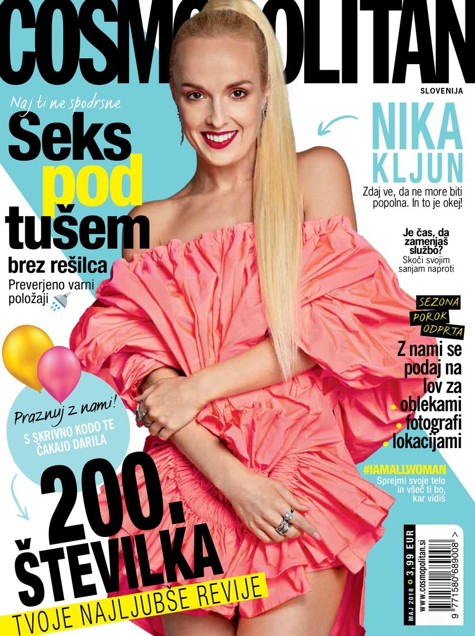 POZOR: Čas je za novi Cosmo! Poglej, kaj ti prinaša nova (200.) številka (foto: Cosmopolitan Slovenija)