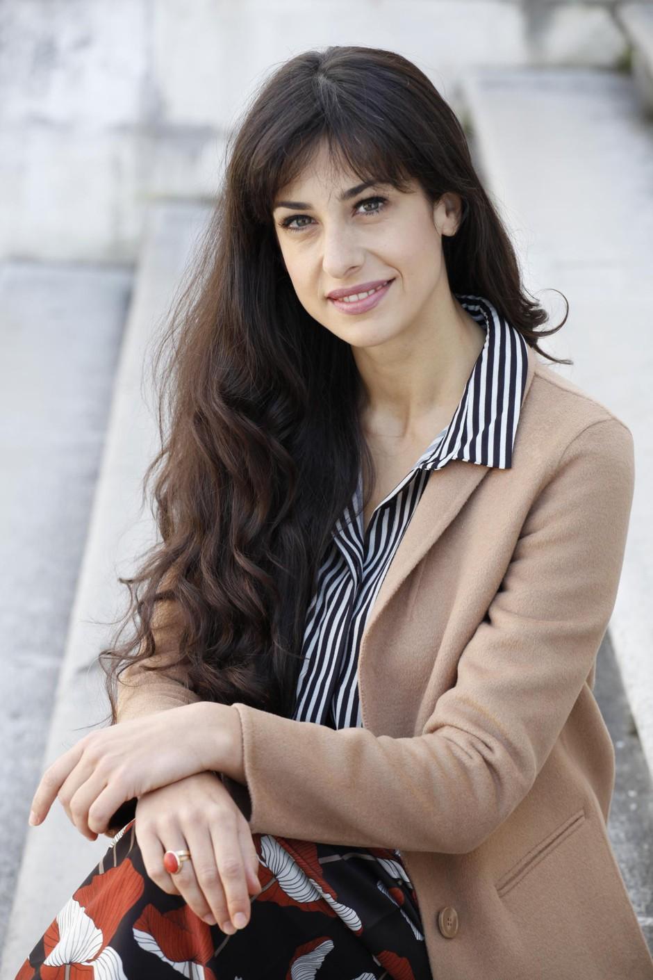 """Lara Komar (Reka ljubezni): """"Večina ljudi me pozna kot igralko, ampak sem tudi …"""" (foto: Aleksandra Sasa Prelesnik)"""