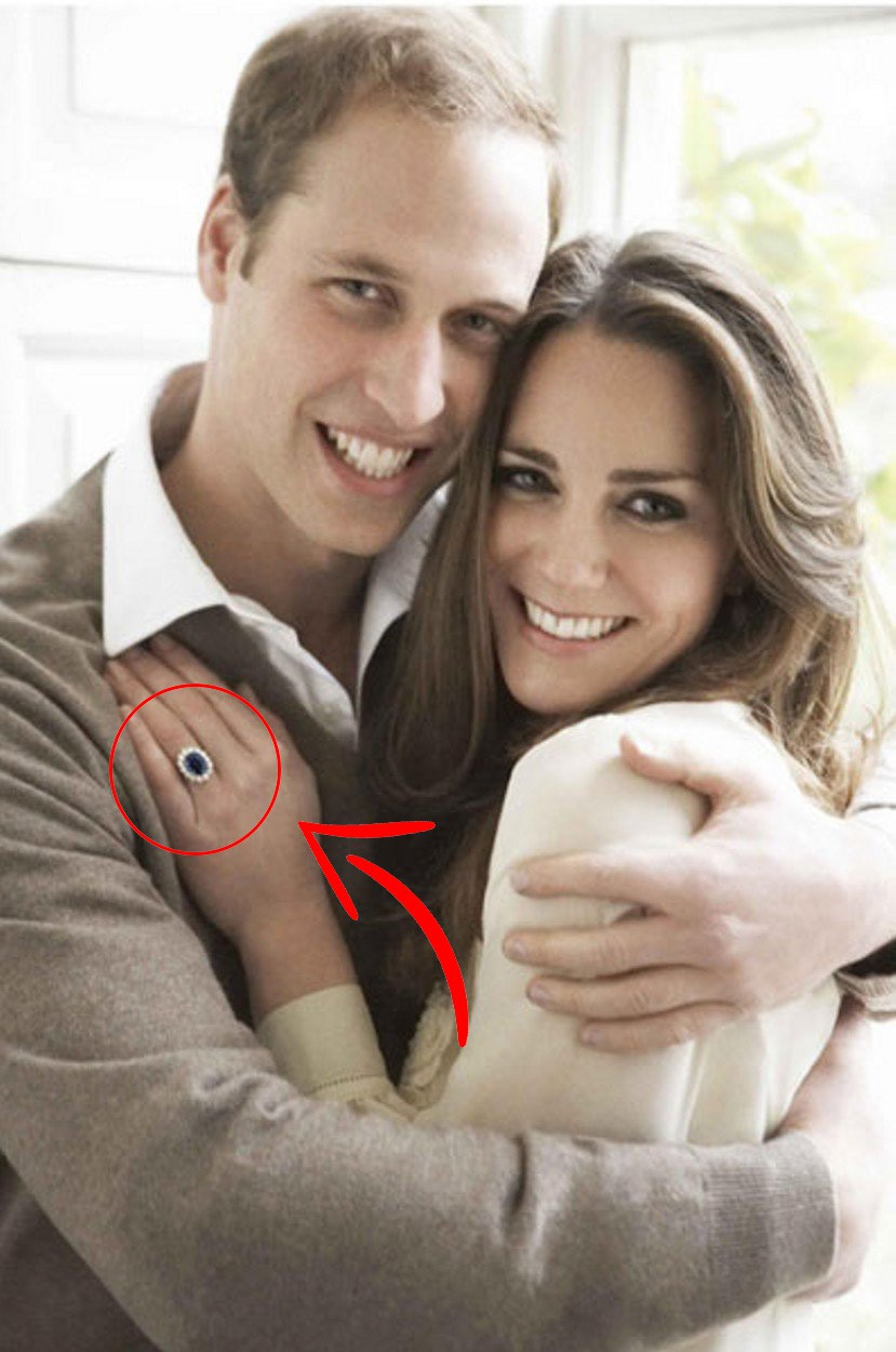 OMG! Zaročni prstan Kate Middleton bi morala v resnici nositi ... (foto: Profimedia)