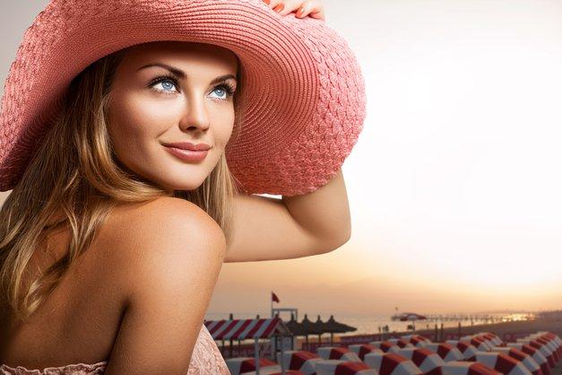 Make-up v poletni vročini? Ne, hvala! (foto: shutterstock)