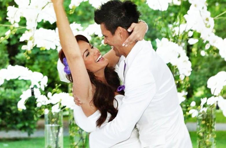 FOTO: Rebeka Dremelj je razkrila intimne fotografije s svoje poroke (foto: Instagram.com/rebekadremelj)