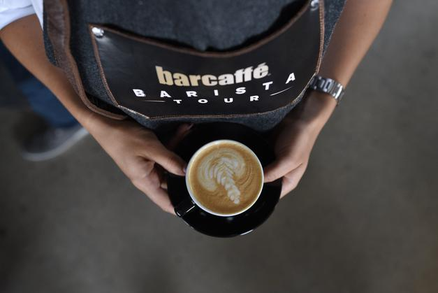 Barcaffe Barista Tour je v Celju ljubitelje kave popolnoma navdušil! (foto: Promocijsko gradivo)
