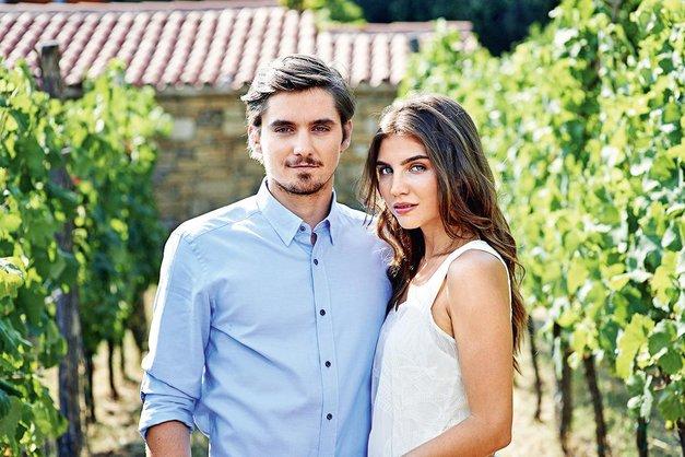 Igralki Inji Zalta (Usodno vino) je v Združenih državah uspel veliki met! (foto: POP TV)
