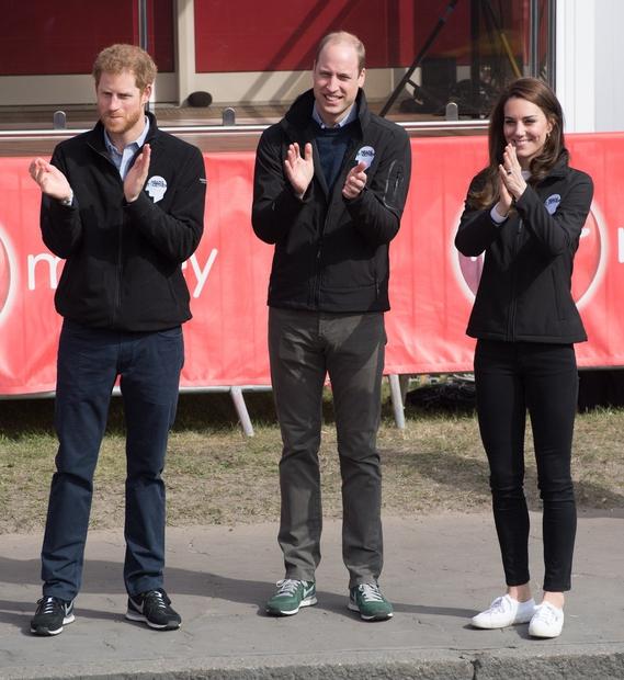 Superge je ponovno obula na otvoritvi maratona v Londonu leta 2017.