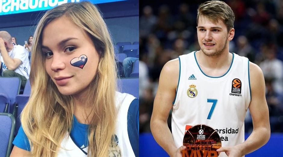 FOTO dokaz: Anamaria in Luka sta spet PAR! (foto: Instagram/Anamaria Goltes in Luka Dončić)
