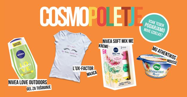 Drugi Cosmo poletni give-away (foto: Cosmopolitan.si)