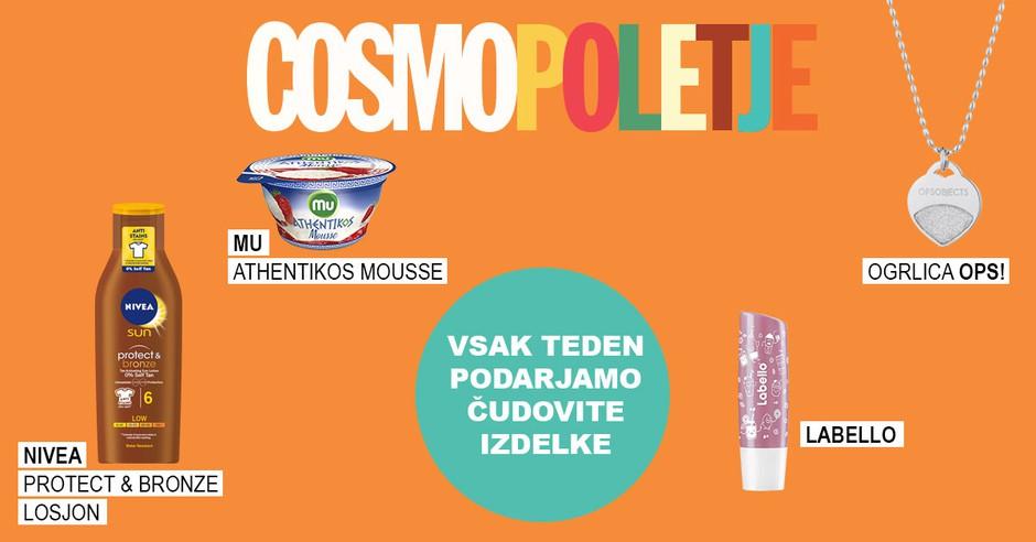 Tretji Cosmo poletni give-away