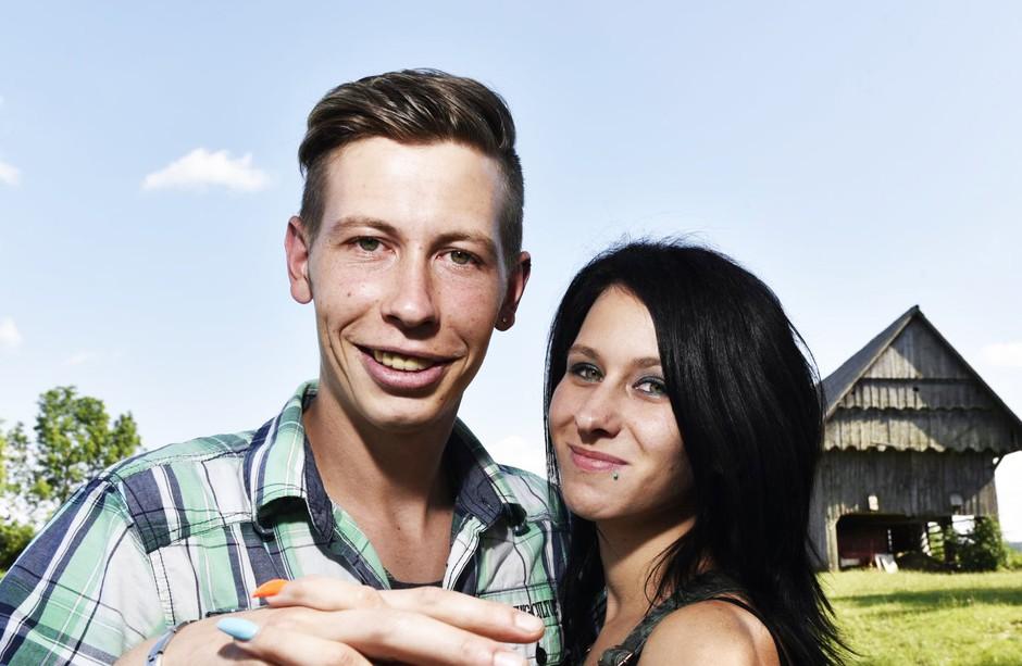 Tamara in Renato (Ljubezen po domače): Razlog, zakaj sta razdrla ZAROKO (foto: Igor Zaplatil)