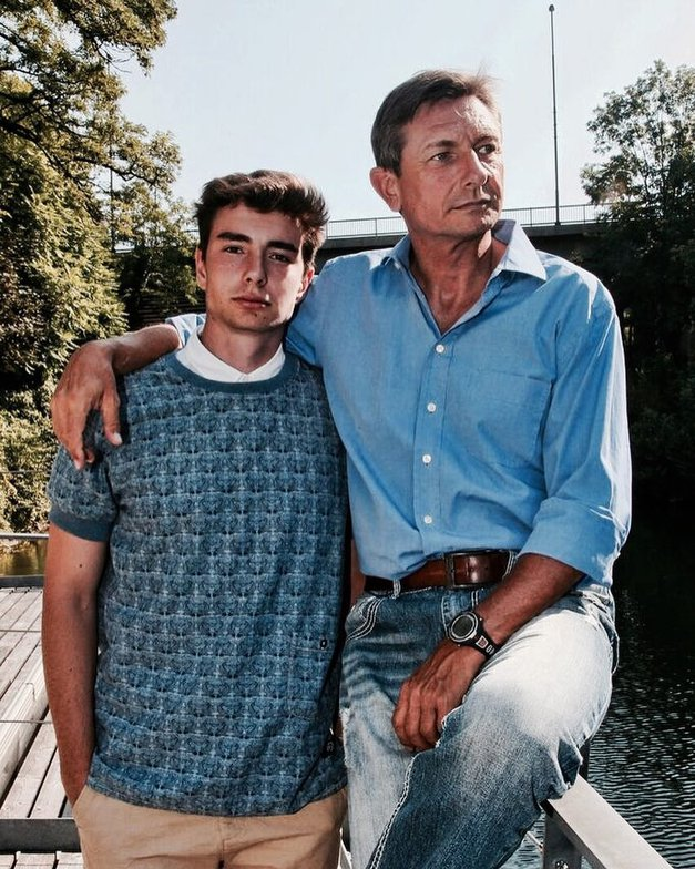 Tisa je sr(e)čna izbranka sina Boruta Pahorja! (foto: Instagram.com/@lukapahor)