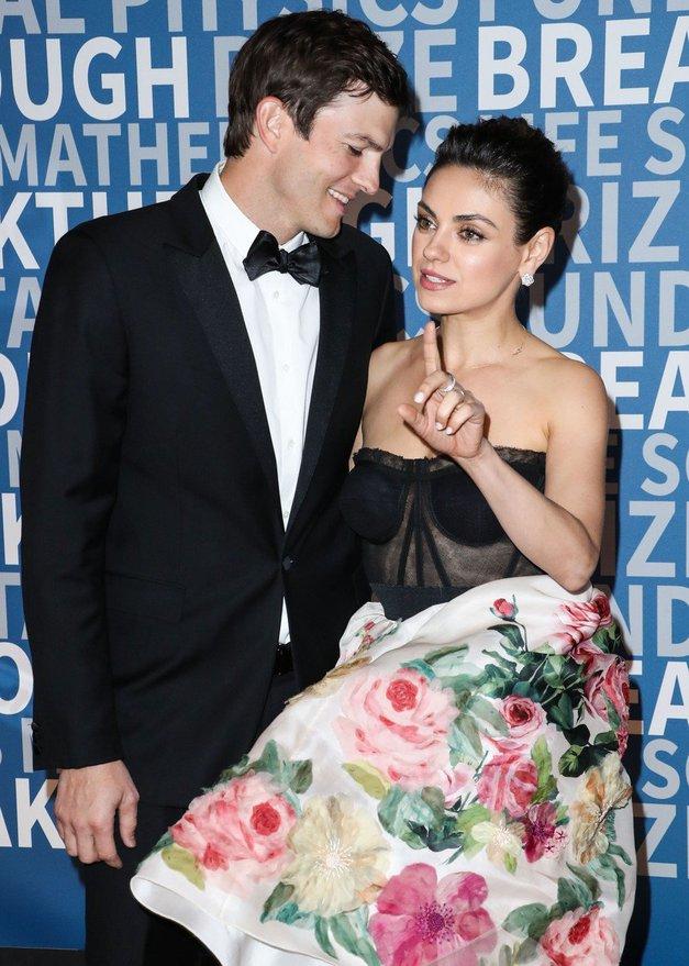 Mila Kunis spregovorila o tem, zakaj je propadel prvi zakon njenega moža Ashtona Kutcherja z Demi Moore (foto: Profimedia)