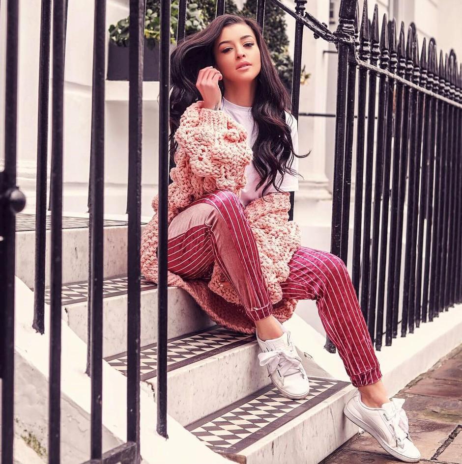 TO je Sanja Grohar počela, ko se je preselila v London (tega NISMO vedeli 😱) (foto: Instagram.com/@theycallmebambam)