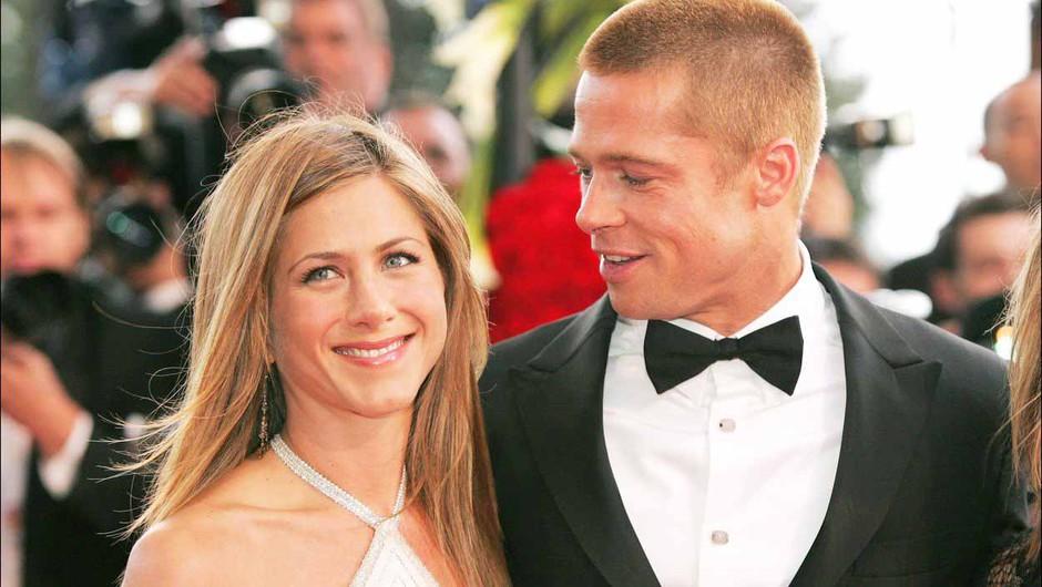 Brad Pitt in Jennifer Aniston imata veselo novico! (foto: Profimedia)