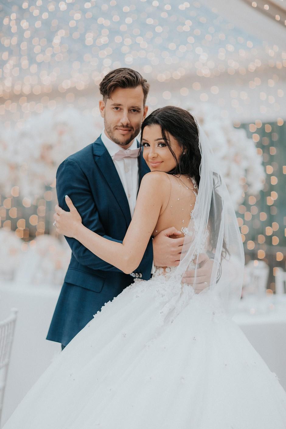 FOTO: Pravljični utrinki poroke Sanje Grohar Kovič (foto: Ana Gregorič)