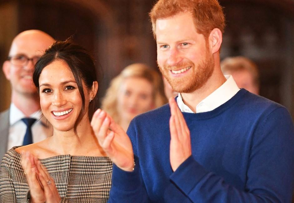 TAKO naj bi izgledal otrok Meghan Markle in princa Harry-ja! (foto: Profimedia)
