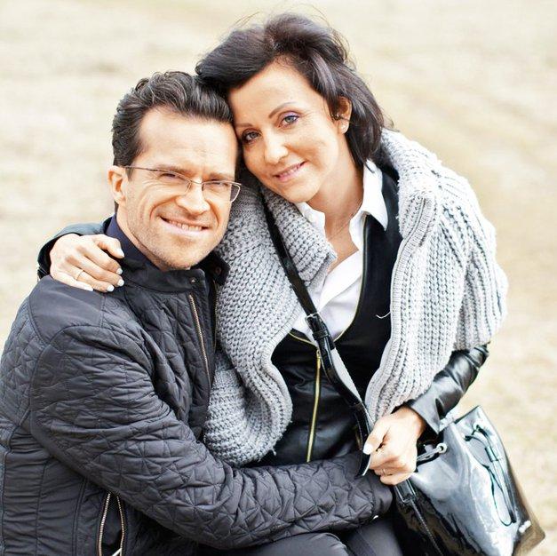 Ja pa iiiiii! Andrej Škufca (Zvezde plešejo) je objavil prvo fotografijo sina Valentina (foto: Helena Kermelj)