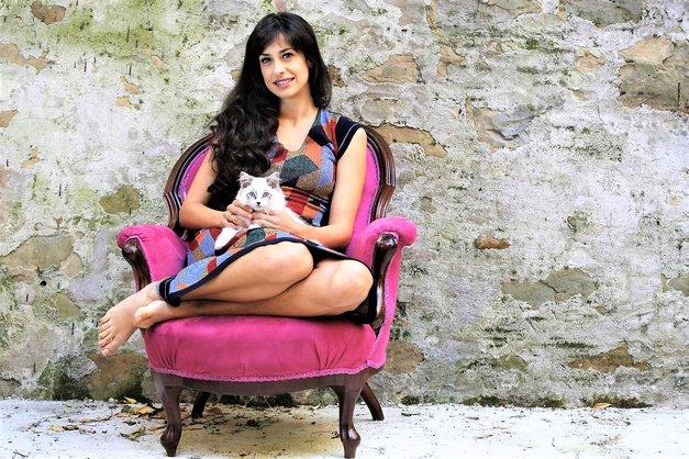 Lara Komar (Reka ljubezni): Poglej, kaj razkriva njena astrološka karta (foto: Aleksandra Saša Prelesnik)