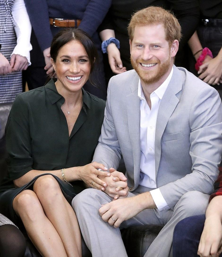 Ali uganeš, kako bo ime otroku Meghan Markle in princa Harryja? (foto: Profimedia)