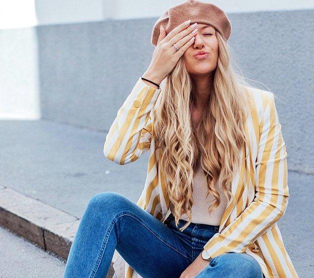Uou! Poglej si ta fantastični jesenski stajling slovenske blogerke The Blonde Bliss (foto: Instagram.com/theblondebliss)