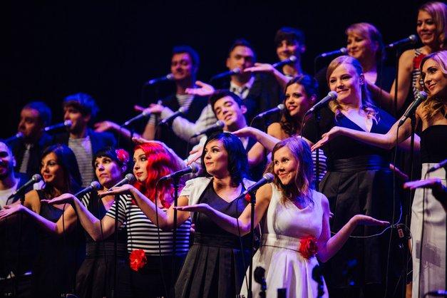 Perpetuum Jazzile ob 35-letnici z Le slovenskim koncertom (foto: Promocijsko gradivo)