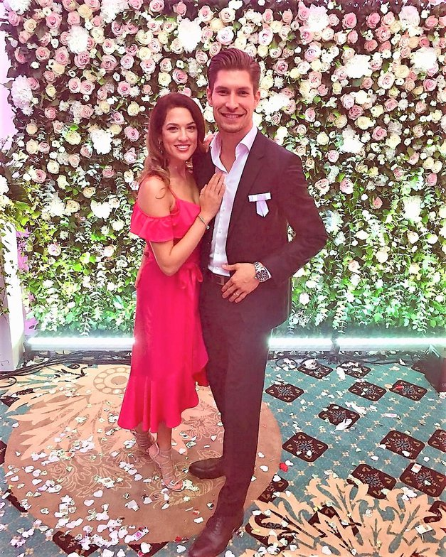 Uau! Tako SANJSKE medene tedne sta si privoščila Miha Vodičar (Zvezde plešejo) in njegova izbranka Kristina! (foto: Instagram/mihavodicar)