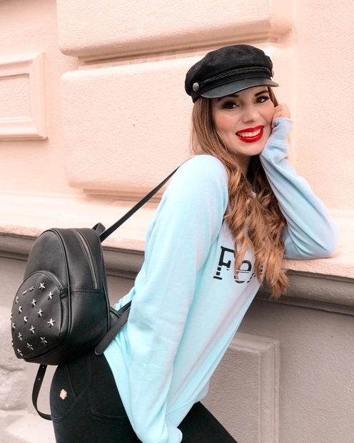Blogerka Katja Grudnik se je to jesen navdušila nad posebnim nahrbtnikom ...