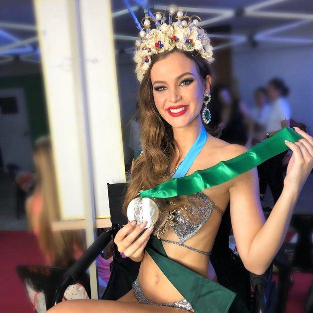 TA Slovenka je na lepotnem tekmovanju zasedla NAJBOLJŠO uvrstitev v zgodovini Slovenije! (foto: Instagram.com/@burjandanijela)