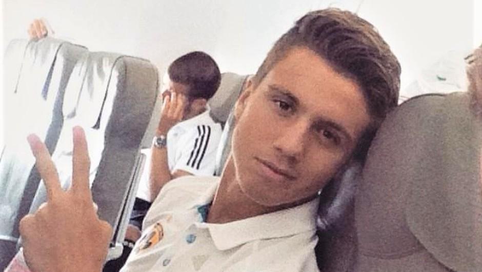 Nogometaš Luka Zahović bo postal očka, in to je bodoča mamica njegovega otroka! (foto: Instagram/Luka Zahović)