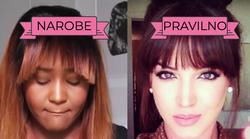 Stilisti svetujejo: Kako PRAVILNO zravnati frufru, da ne izgleda ... TAKO?!?