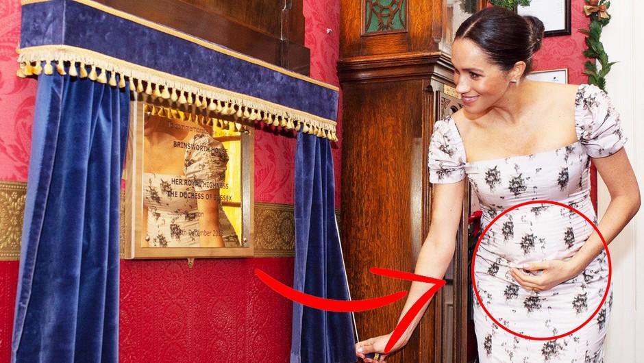 TO je razlog, zakaj se Meghan Markle neprestano dotika nosečniškega trebuščka (foto: Profimedia)
