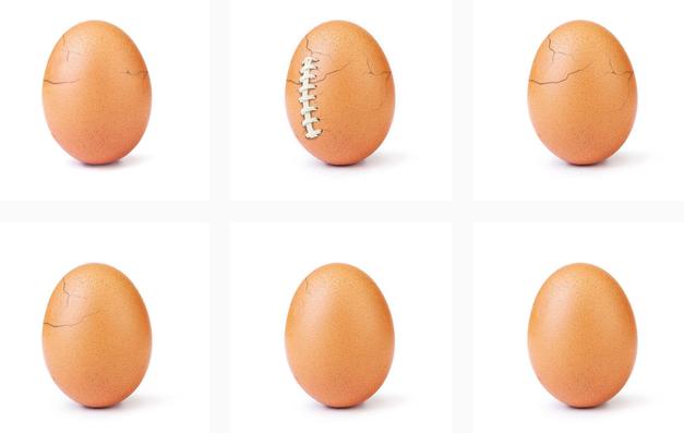 Se spomniš rekorderskega jajca z Instagrama? Za objavo stoji GANLJIVA zgodba, ki je nismo pričakovali (foto: Profimedia)