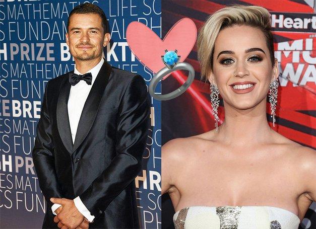 Katy Perry in Orlando Bloom sta zaročena! Poglej enega najlepših zaročnih prstančkov vseh časov (foto: Profimedia)
