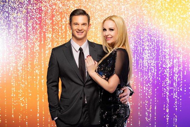 Špela Grošelj in Grega (Zvezde plešejo) razkrila simpatično zgodbo, kako sta se zaljubila (foto: POP TV)