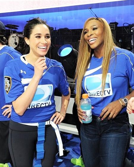 Meghan Markle in Serena Williams sta prijateljici že vse od časov, ko je Meghan ustvarjala svoj blog The tig. Tedaj …