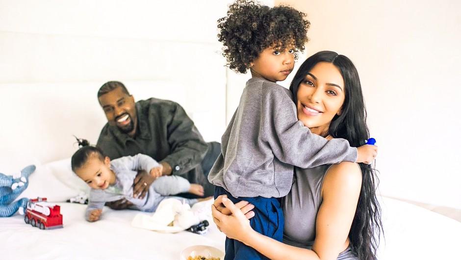 Kim Kardashian je razkrila (nenavadno) ime njunega četrtega otroka (foto: Profimedia)