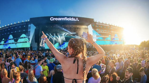Poglej, zakaj moraš letos nujno obiskati festival Creamfields v Liverpoolu (foto: Instagram/ @creamfieldsofficial)