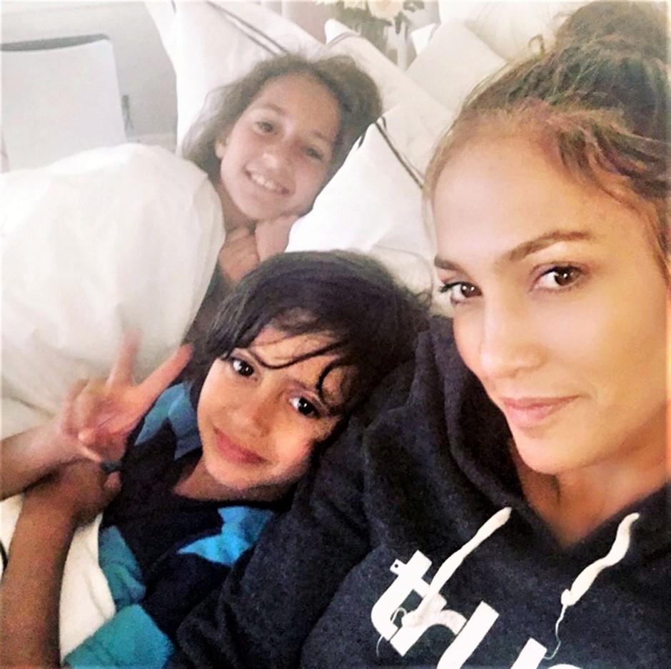Trenutek, ko hčerka Jennifer Lopez ZAPOJE, je pustil vse odprtih ust! (video) (foto: Profimedia)