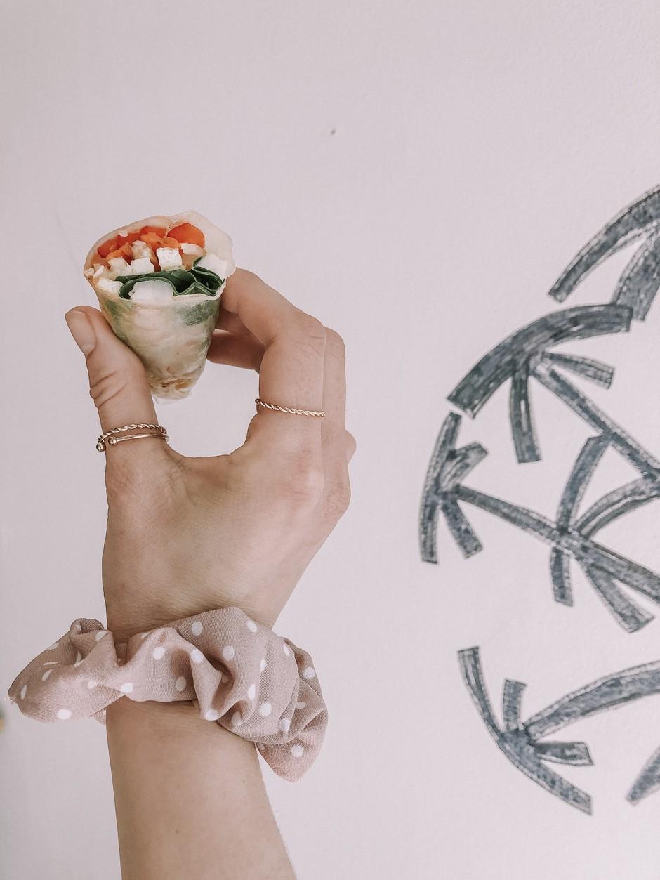 RECEPT: TE slastne (in zdrave) zelenjavne zavitke si redno pripravlja Meghan Markle (foto: Kaja Berlot)