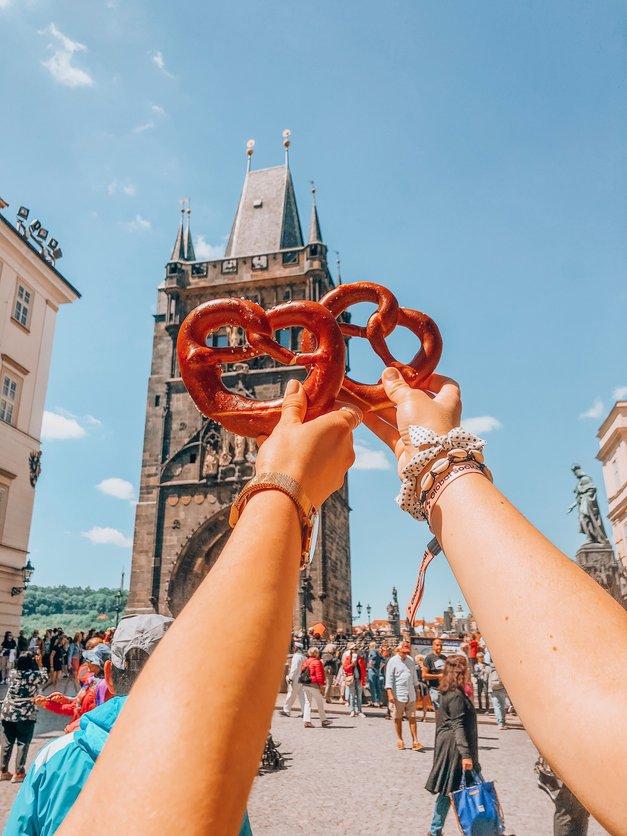 5 TOP insta kotičkov, ki sta jih v Pragi odkrili Ajda in Kaja (ideja za izlet s prijateljico!) (foto: Kaja Berlot)