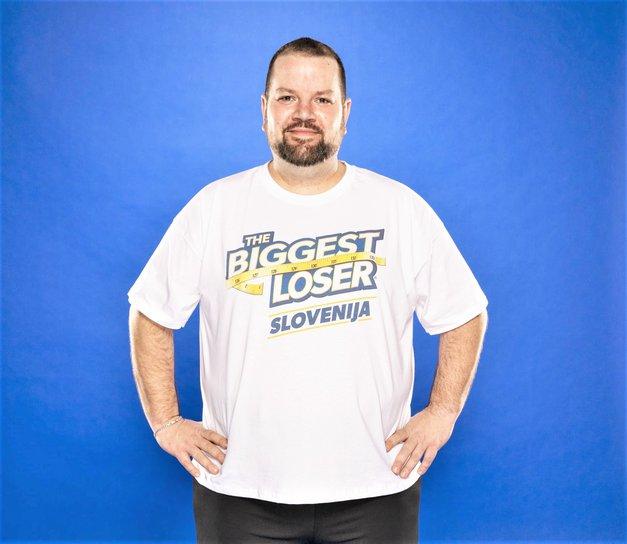 OMG! Poglej, kako FANTASTIČNO je danes videti Cristian Baranašič (The Biggest Loser Slovenija) (foto: Foto Blaž Vatovec)