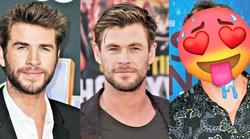 Sta tudi tebi Liam in Chris Hemsworth norooo SEKSI? Počakaj, da vidiš njunega BRATA (ja, trije so! 😍)
