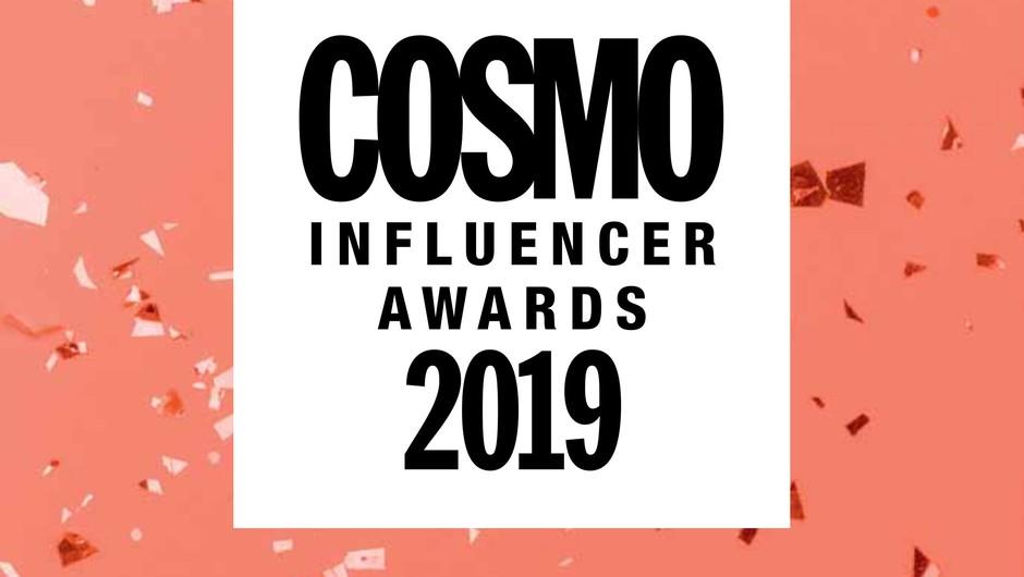Cosmo Influencer Awards 2019