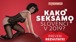 Rezultati velike ankete na temo »Seks in Slovenci 2019«!