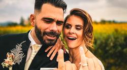 Po Teji in Janiju se je ta vikend poročil še TALE👇zvezdniški parček (na SANJSKI lokaciji 😍)