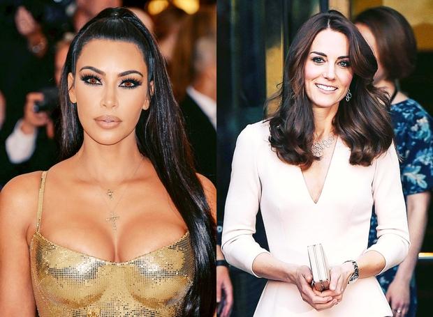 Kdo bi si mislil, da imata zvezdnica resničnostnih šovov Kim Kardashian in vojvodinja Kate sploh karkoli skupnega! No, skupen jima …