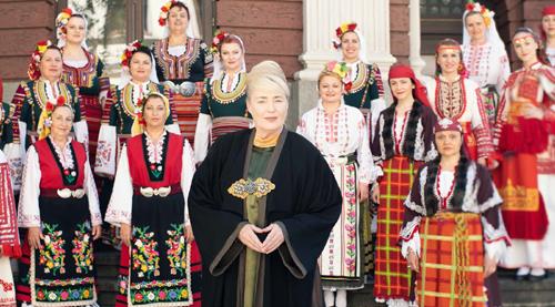 Ta vikend v Ljubljani: Skrivnost bolgarskih glasov z Liso Gerrard (foto: Promocijsko gradivo)